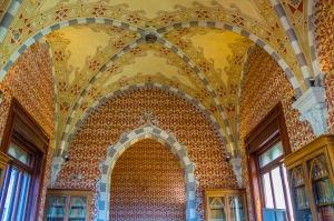 inside Castello D'Albertis