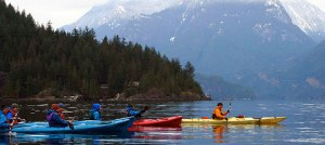 Kayaking Deep Cove