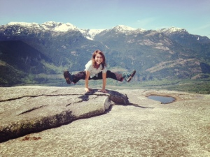 Me at the top of Stawamus Chief