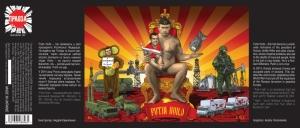 Label for Putin Huilo
